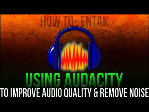 Tutorial Tuesday - Using AUDACITY TO IMPROVE AUDIO QUALITY & Remove Noise