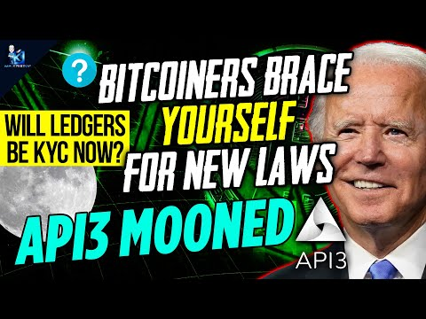 US Regulators To Announce BRAND NEW Bitcoin Regulation In 2 Weeks | API3 Just Getting Started