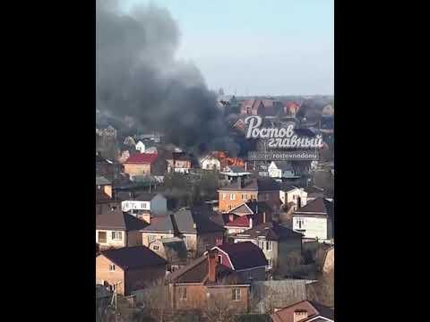 Один человек погиб при пожаре частного дома в Ростове