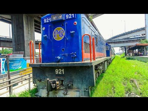 Railway. Train ride on Philippine National Railways PNR / Чумовая поездка на филиппинском поезде