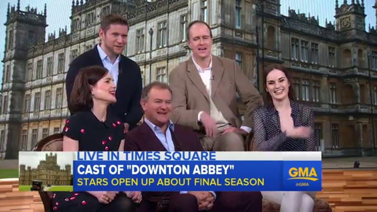 Downton Abbey\' Cast Hype Final Season - YouTube