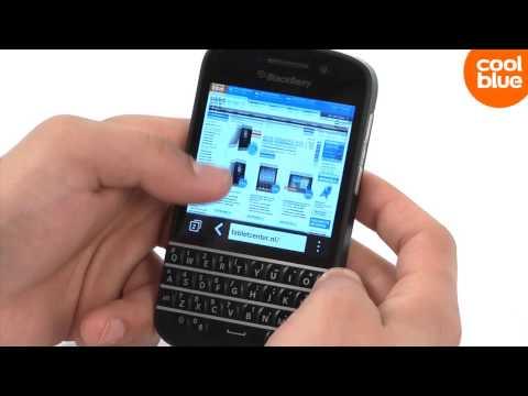 BlackBerry  Q10 Videoreview En Unboxing (NL/BE)