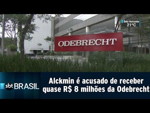 Alckmin é acusado de receber quase R$ 8 milhões da Odebrecht | SBT Brasil (05/09/18)