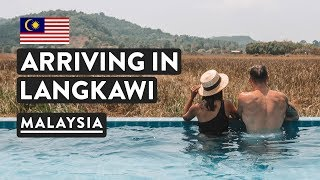 TO LANGKAWI ISLAND, MALAYSIA | Pantai Cenang Beach + Hotel | Travel Vlog