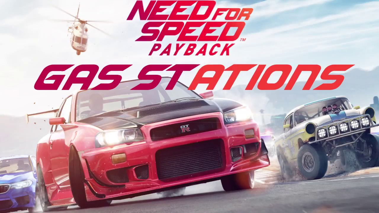 Need For Speed Payback Gas Station Locations Youtube