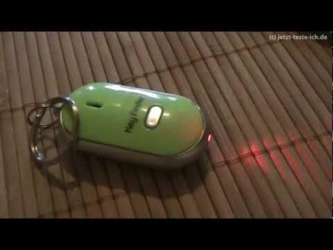 Der große KIK TEST: Gadget Keyfinder - finde deine Schlüssel durch Pfeifen wieder
