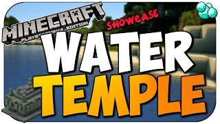 MineCraft PS4 & PS3 Seed Showcase EPIC WATER TEMPLE + Diamonds |Playstation 4 Review Guide