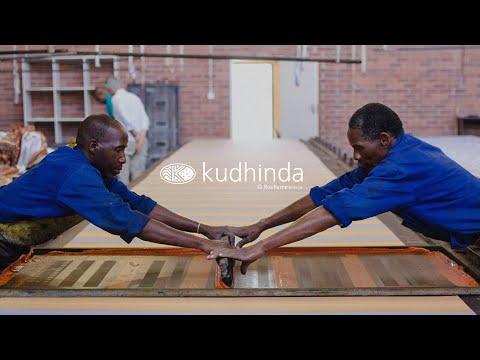 Kudhinda Fabrics - Screen Printing.