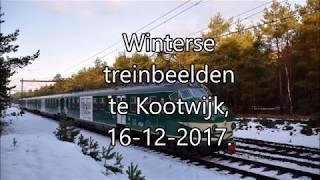 Winterse treinbeelden Kootwijk 16-12-2017