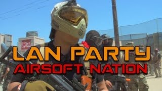 MAN Party: 2000 Player Airsoft War (World Record)