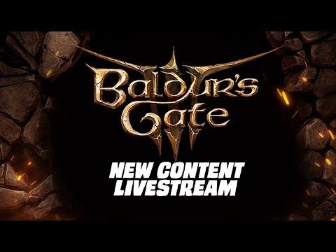 Baldurs Gate 3 Panel From Hell 2 - New Content Livestream