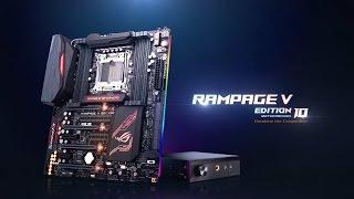 استعراض للمذربورد ASUS Rampage V Edition 10