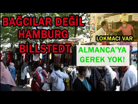 "HAMBURG'UN BAĞCILARI ""BİLLSTEDT""   ALMANCA BİLMEDEN YAŞANIR"