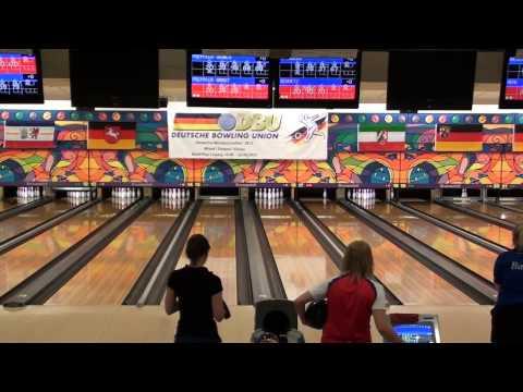 DM Bowling 2013 - Zwischenrunde Frauen Spiel 5+6