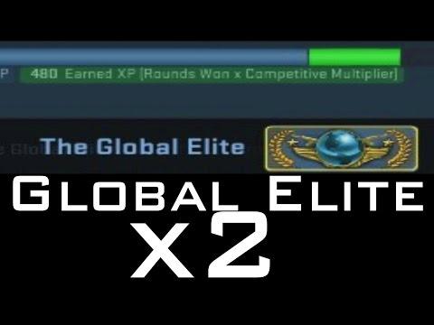 CS:GO - Two GLOBAL ELITE Accounts in 4 weeks!