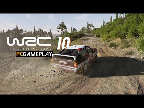 WRC 10 FIA World Rally Championship Gameplay (PC)