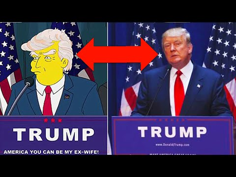 Thumbnail: 10 Times The Simpsons Predicted The Future
