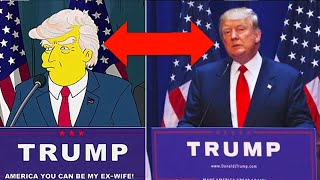 10 Times The Simpsons Predicted The Future(From predicting Donald Trumps run for presidency to the massive outbreak of the Ebola virus, we count down 10 Times The Simpsons Predicted The Future., 2016-01-30T18:00:01.000Z)