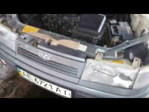 Снятие переднего бампера ВАЗ 2110