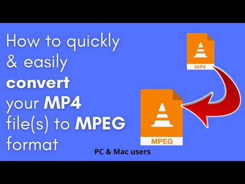 How to convert MP4 to MPEG