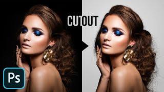 Cut Out Dark Hair from Dark Background in Photoshop!