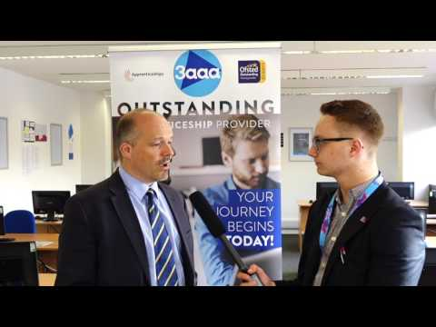 3aaa Apprenticeships Marketing Derby Event - Interview With Simon Storey