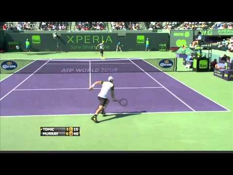 Miami crowd boos Bernard Tomic's effort (2013 Sony Open)