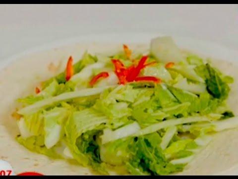 Легкий овощной салат в тайском стиле