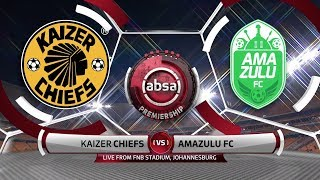 Absa Premiership | Kaizer Chiefs v AmaZulu FC  | Highlights