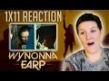 Natalie's reaction to Wynonna Earp 1x11