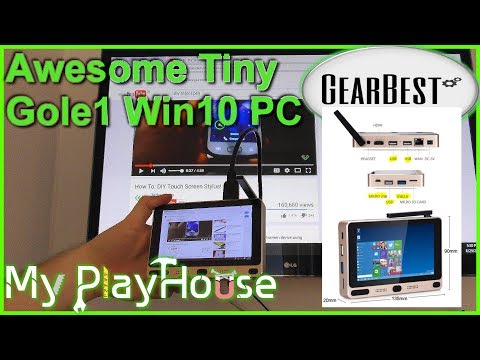 Gole1 review: Mini PC - Win10/Android, Touchscreen from GearBest - 540