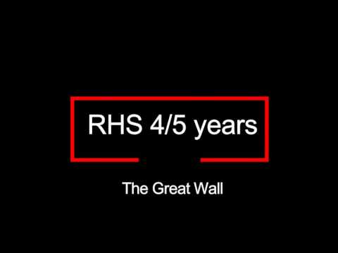 Rosemount High School - Sec 4/5 -The Great Wall