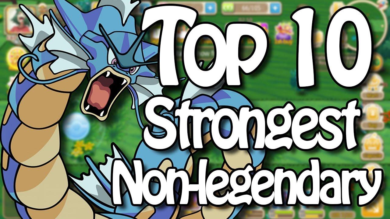 Top 10 Strongest Non Legendary Pokemon In Hey Monster/Monster Park