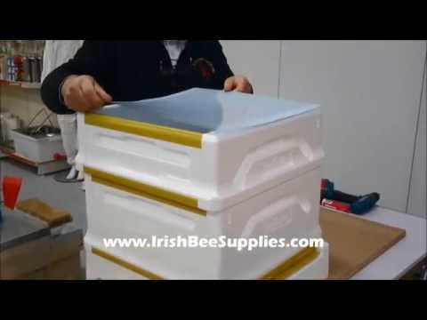 Irish Bee Supplies Poly Hive Assembly
