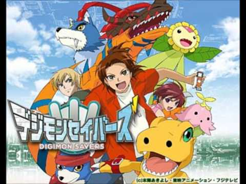 Digimon Savers OP 2 [FULL] Hirari