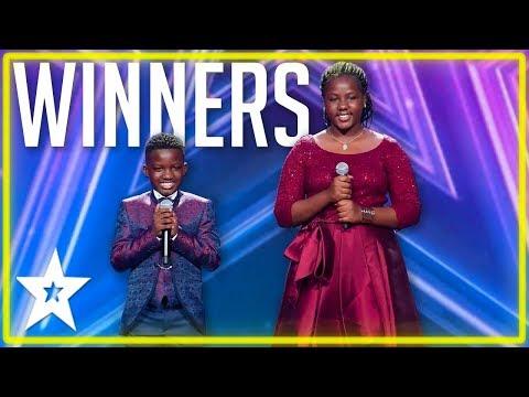 Brother & Sister Wins East Africa's Got Talent 2019 | Kids Got Talent