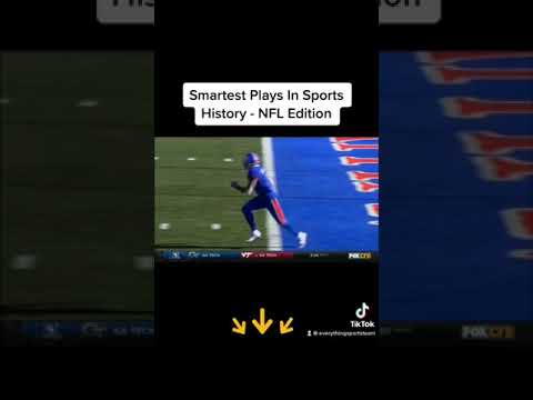 Smartest Big Brain Plays In Sports History – NFL Edition #shorts