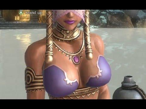 Sexy Geisha Hot Tub Scene In Asura's Wrath (Mature Only 1080p)