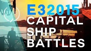 Capital Ship Battle - Star Citizen E3 2015
