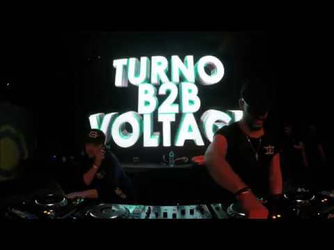 Voltage B2B Turno @ Breakin' Science - Live from Building Six 2017