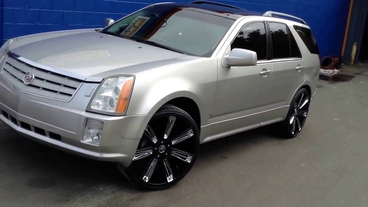 2005 Cadillac Srx Rolling Out Of Rimtyme Durham On 24