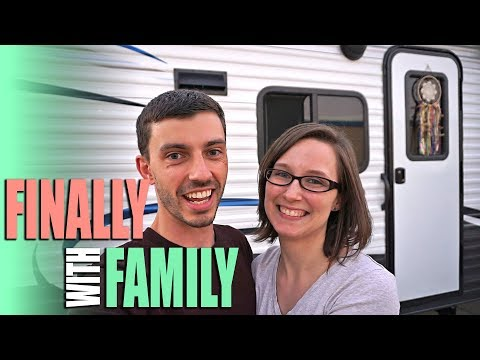Traveling to Yuma, Arizona & Finally With Family - Full Time RV Living