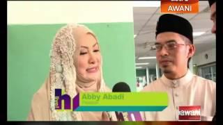 Abby Abadi & Muhammad Faizal harap peminat doakan yang terbaik