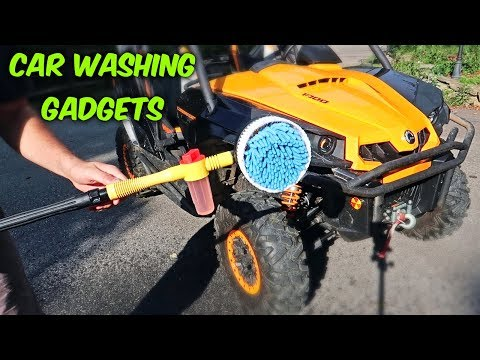 Auto Rotate Brushes For Car Wash