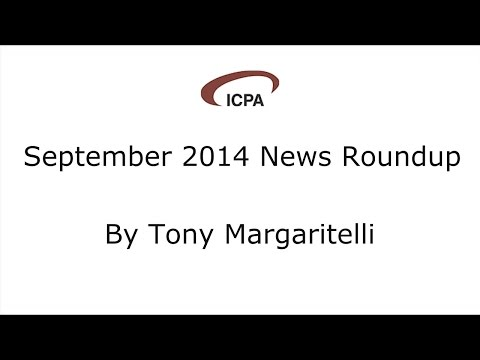 September 2014 News Roundup