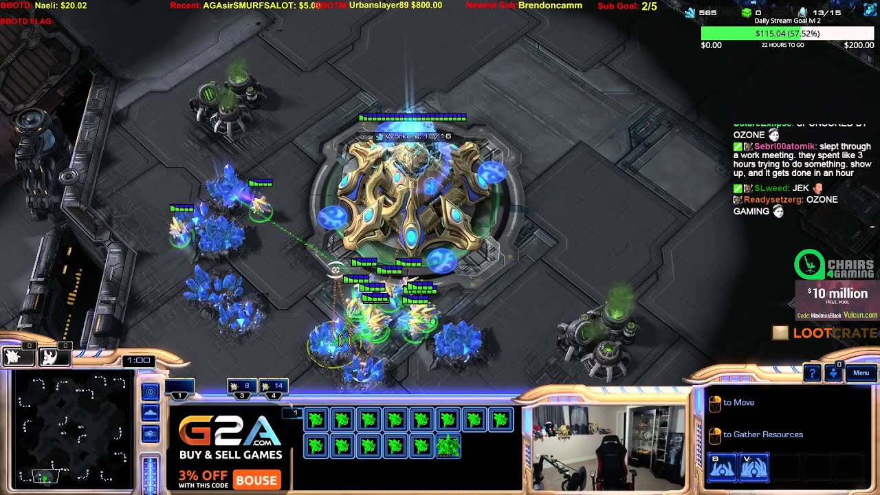 Chairs 4 Gaming Webbing For Sc2 Lotv What The Youtube