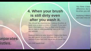 6 Signs That You Will want to Replace Your Makeup Brushes Thumbnail