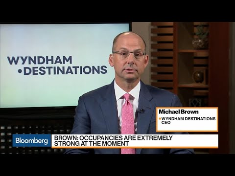 Wyndham CEO Says Vacation Occupancies 'Extremely Strong'
