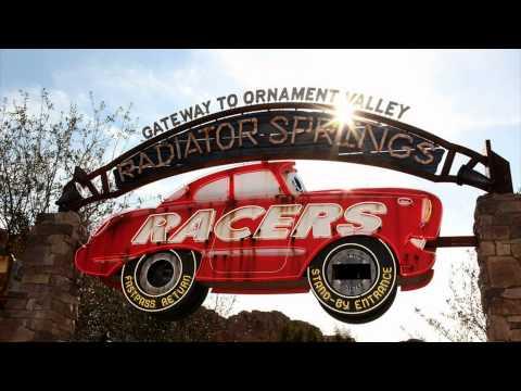 Radiator Springs Racers ride soundtrack
