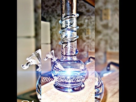 DIY cleaning a glass bong using household items